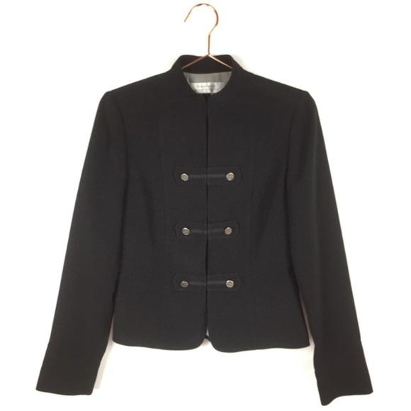 Tahari Jackets & Blazers - Tahari 2 Blazer Black Military Long Sleeve Jacket